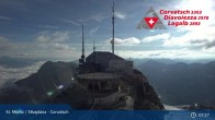 Archiv Foto Webcam Corvatsch: Bergstation 01:00