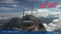 Archiv Foto Webcam Corvatsch: Bergstation 03:00