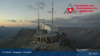 Archiv Foto Webcam Corvatsch: Bergstation 21:00