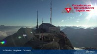 Archiv Foto Webcam Corvatsch: Bergstation 01:00