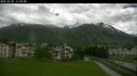 Archiv Foto Webcam Celerina: Skiwiese Provuler 08:00