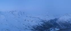Archiv Foto Webcam Rothorn Zermatt mit Monte Rosa Massiv 00:00