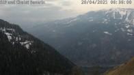 Archiv Foto Webcam mit Blick vom Skigebiet Feldis Richtung Heinzenberg 00:00