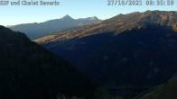 Archiv Foto Webcam mit Blick vom Skigebiet Feldis Richtung Heinzenberg 02:00