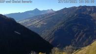 Archiv Foto Webcam mit Blick vom Skigebiet Feldis Richtung Heinzenberg 04:00