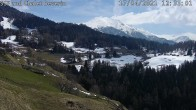 Archiv Foto Webcam Bergbahnen Feldis - Blick auf Casealas/Fulberg 06:00