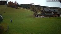Archiv Foto Webcam auf die Talstation im Skigebiet Joglland Hauereck 02:00