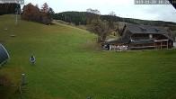 Archiv Foto Webcam auf die Talstation im Skigebiet Joglland Hauereck 04:00