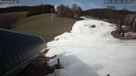 Archiv Foto Webcam auf die Talstation im Skigebiet Joglland Hauereck 08:00