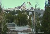 Archiv Foto Webcam bei der Heather Bergstation im Skigebiet Mt. Hood Meadows 23:00