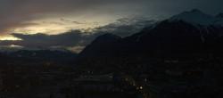 Archiv Foto Webcam Panoramablick Innsbruck 12:00