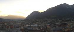 Archiv Foto Webcam Panoramablick Innsbruck 14:00