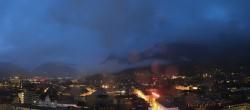 Archiv Foto Webcam Panoramablick Innsbruck 22:00