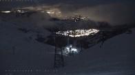 Archived image Webcam Diente de Caballo (North) - Top Station 00:00