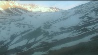 Archiv Foto Webcam Mt. Dobson: Ophua Saddle Triple Chairlift 01:00