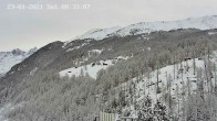 Archiv Foto Webcam Air Zermatt 02:00