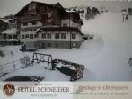 Archiv Foto Webcam Hotel Schneider 08:00