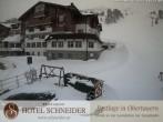 Archiv Foto Webcam Hotel Schneider 10:00