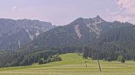 Archiv Foto Webcam Schollenwiesenlift Reutte 08:00