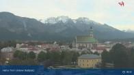 Archiv Foto Webcam Oberer Stadtplatz in Hall in Tirol 02:00