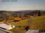 Archiv Foto Webcam Mitterdorf: Ausblick Hotel Waldeck 20:00