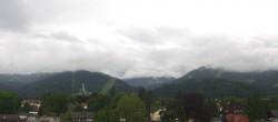 Archiv Foto Webcam Panoramakamera am Rathaus Garmisch 06:00