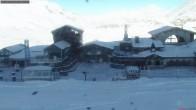 Archiv Foto Webcam Val d'Isere - Tignes La Folie Douce 04:00