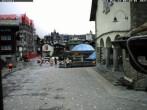 Archiv Foto Webcam Kirchplatz Zermatt 02:00