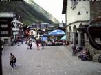 Archived image Webcam Zermatt - Centre 08:00