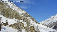 Archiv Foto Webcam Spiss Zermatt 06:00