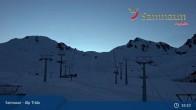 Archiv Foto Webcam Samnaun - Alp Trida 19:00