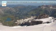 Archived image Webcam Titlis, Switzerland 02:00