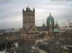 Archiv Foto Webcam Marktplatz Neuss - Quirinus Münster 08:00