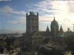 Archiv Foto Webcam Marktplatz Neuss - Quirinus Münster 02:00