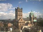 Archiv Foto Webcam Marktplatz Neuss - Quirinus Münster 06:00