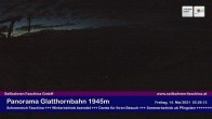 Archiv Foto Webcam Bergstation Glatthornbahn 22:00