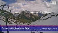 Archiv Foto Webcam Bergstation Glatthornbahn 08:00
