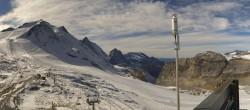 Archived image Webcam Tignes - Grande Motte Glacier 08:00