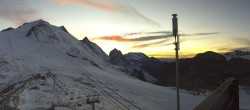 Archived image Webcam Tignes - Grande Motte Glacier 14:00
