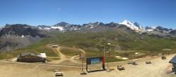 Archiv Foto Webcam Val d'Isère: Solaise 08:00