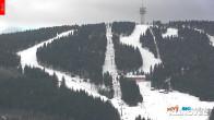 Archiv Foto Webcam Klinovec: Panoramablick Keilberg 09:00