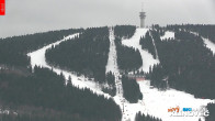 Archiv Foto Webcam Klinovec: Panoramablick Keilberg 12:00