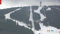 Archiv Foto Webcam Klinovec: Panoramablick Keilberg 14:00