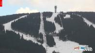 Archiv Foto Webcam Klinovec: Panoramablick Keilberg 15:00