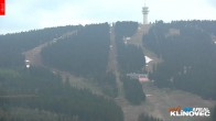 Archiv Foto Webcam Klinovec: Panoramablick Keilberg 22:00