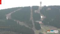 Archiv Foto Webcam Klinovec: Panoramablick Keilberg 02:00