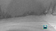 Archiv Foto Webcam Sun Peaks: Sundance Sesselbahn Bergstation 19:00