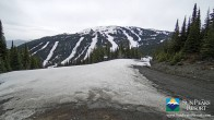 Archiv Foto Webcam Sun Peaks: Sundance Sesselbahn Bergstation 03:00