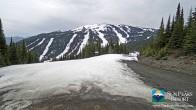 Archiv Foto Webcam Sun Peaks: Sundance Sesselbahn Bergstation 05:00