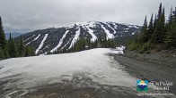 Archiv Foto Webcam Sun Peaks: Sundance Sesselbahn Bergstation 07:00
